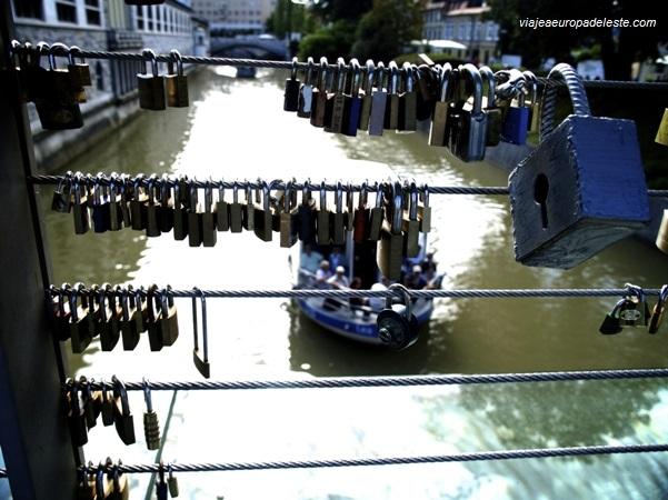Puente para enamorados en Liubliana