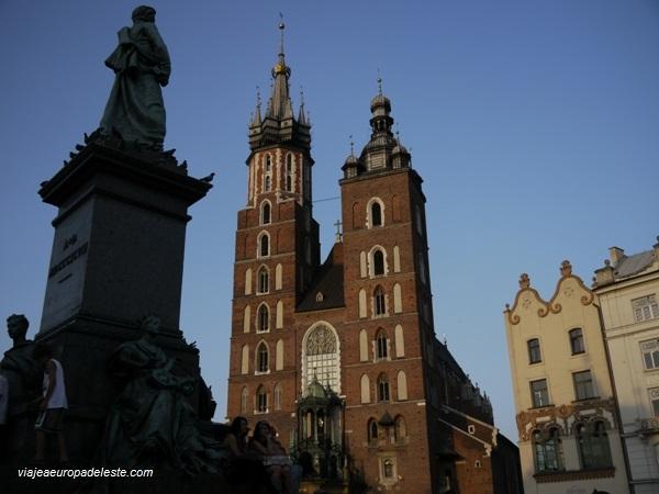 Iglesia de St. Mary, en Cracovia