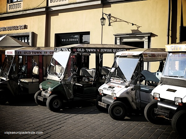 City cars en Cracovia