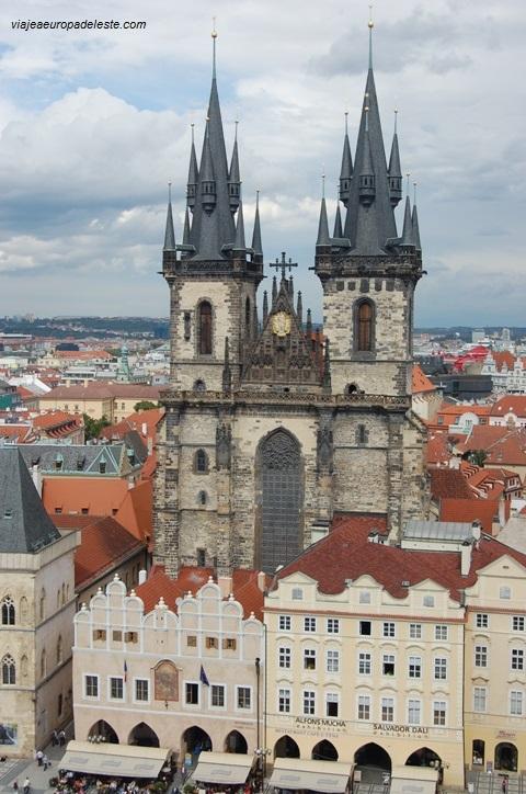 Iglesia de Nuestra Señora de Tyn, en Praga