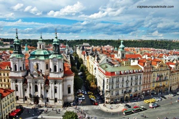 Fotos del centro histórico de Praga