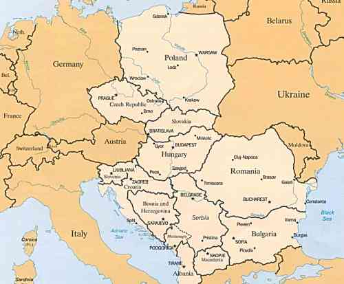Circuito turístico por Europa del Este