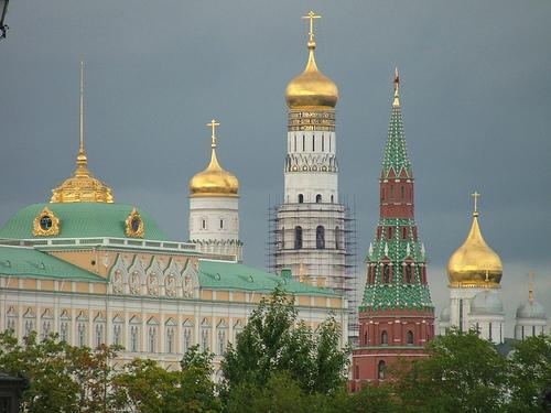 Kremlin, arte bello en el Casco Histórico de Moscú