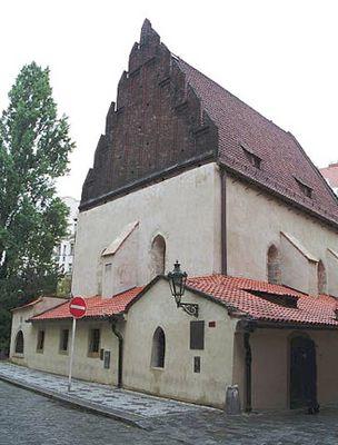Vieja Iglesia Judia en Praga