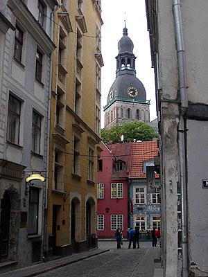 Estilo Art Noveau en Riga