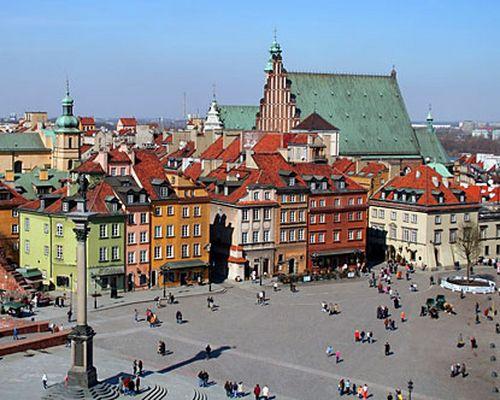 El casco histórico de Wroclaw