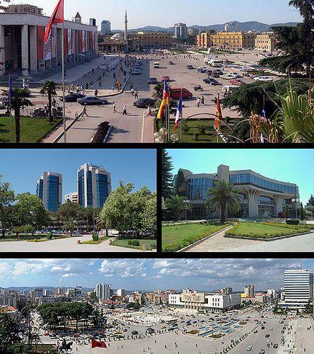 Tirana, la capital de Albania