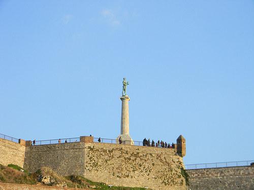 El Victor, majestuoso monumento en Belgrado