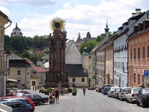 Banska Stiavnica, histórica ciudad minera