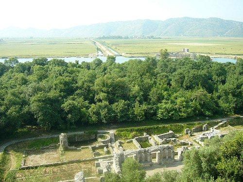 Butrint, importante sitio arqueológico en Albania