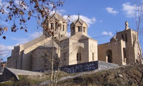 La Catedral Nacional Grigor Lusavorich, en Yerevan