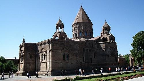 Echmiadzin, centro de la Iglesia Armenia