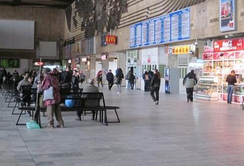 Estacion de trenes de Sofia