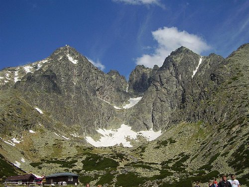 El pico Lomnický štít, en Eslovaquia