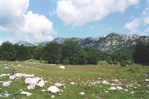 Montañismo en el Monte Orjen