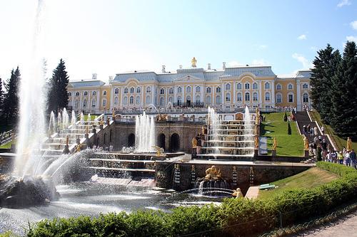 Resultado de imagen de Palacio de Petrodvorets