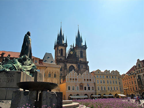 Plaza Ciudad Vieja Praga