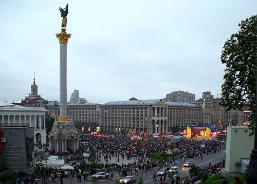 Plaza de la Independencia de Kiev