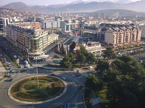 Podgorica, capital y centro turístico en Montenegro