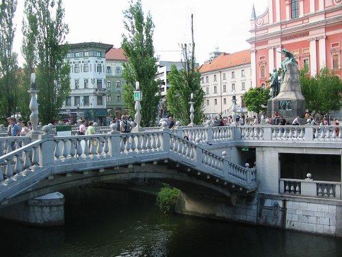 El Puente Triple de Liubliana