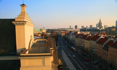 Caminar por la Ruta Real de Varsovia