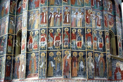 Monasterio de Sucevita, Bucovina